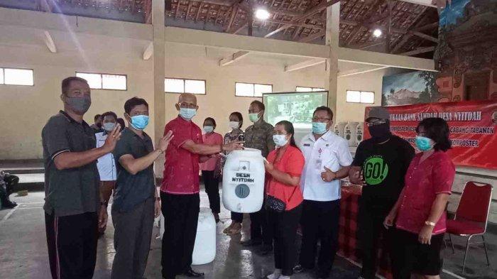 Desa Nyitdah Tabanan Bali Resmikan Bank Sampah, Upaya Pengelolaan Sampah Berbasis Sumber
