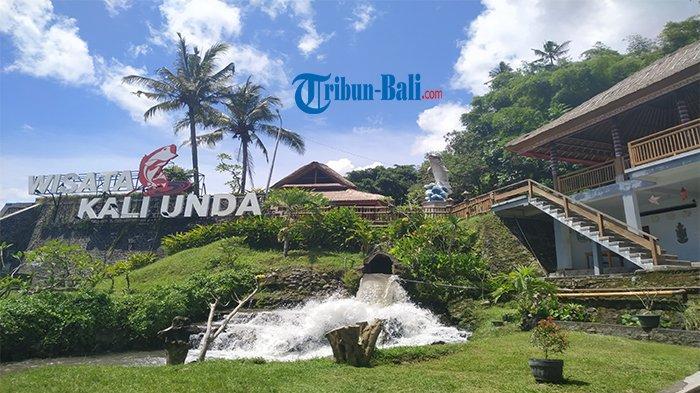 Destinasi Wisata Kali Unda Mulai Dibuka, Pengunjung Sudah Bisa Prewedding di Air Terjun Tirai