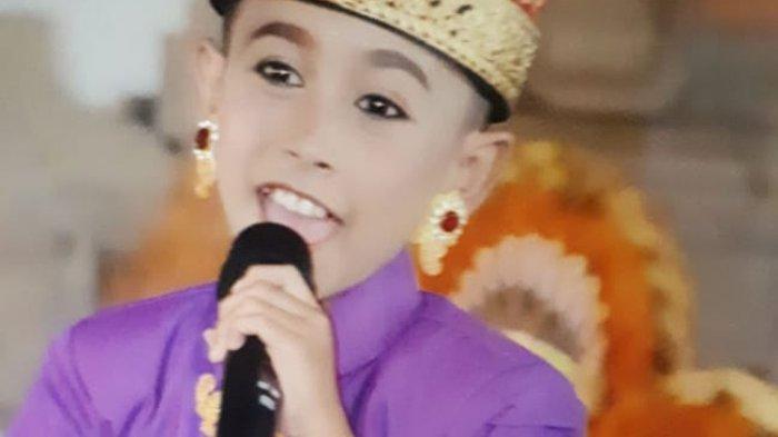 Gus Wira Penyanyi Cilik Pendatang Baru, Siap Ramaikan Belantika Musik Bali