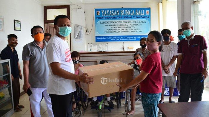 82 Panti Asuhan Dapat Bantuan 82 Ribu Masker dari Pemprov Bali