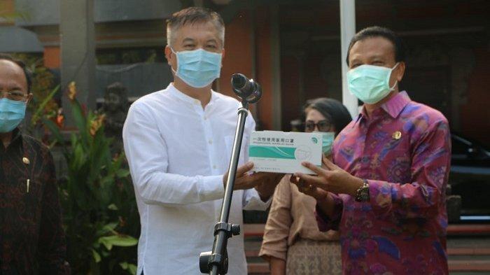 Pemprov Bali Terima Bantuan Logistik dari Tiongkok, Langsung Disalurkan ke 18 Rumah Sakit
