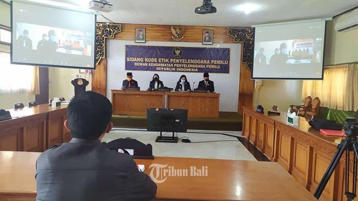 DKPP RI Sidang Ketua Bawaslu Bangli Soal Penanganan Netralitas ASN Saat Pilkada
