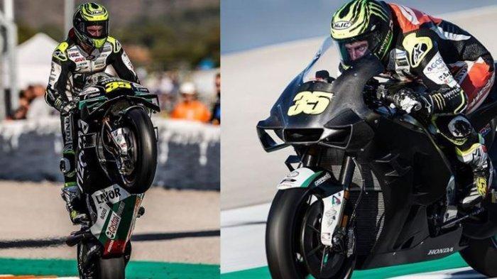 Aksi Cal Crutchlow di MotoGP 2020