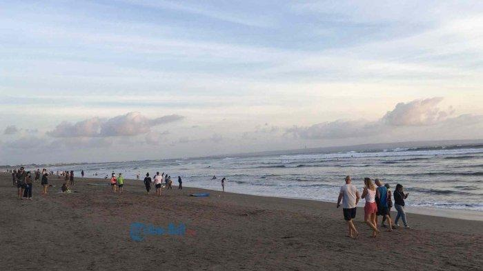Begini Kondisi Pantai Batu Bolong Menjelang Dibukanya Penerbangan Internasional