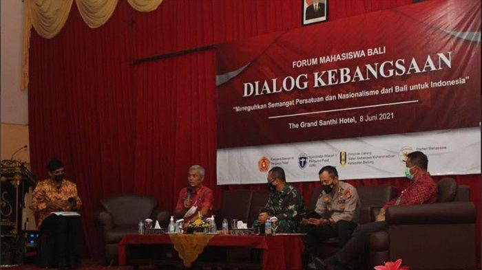 Forum Mahasiswa Bali Gelar Dialog Kebangsaan dan Sampaikan Deklarasi Nasionalisme