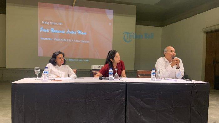 Dialog Sastra #69 Bentara Budaya Bali Suguhkan Puisi Romansa Lintas Masa