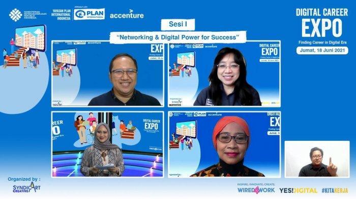 Dorong Kesempatan Kerja Setara bagi Kaum Muda Melalui Digital Career Expo 2021