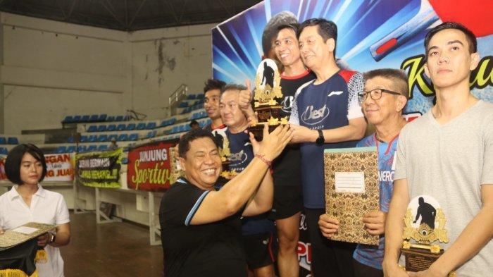 Kapolda Bali Tutup Kejuaraan Tenis Meja Piala PRG Cup 1, Motivasi Atlet Tetap Semangat Berlatih