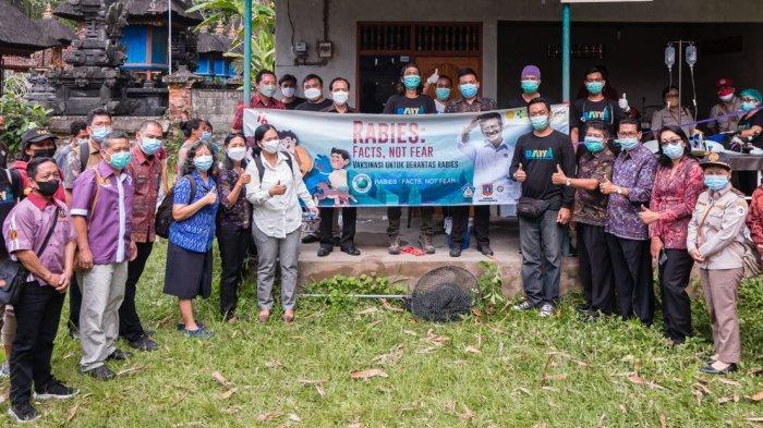 Peringati Hari Rabies Sedunia, Dinas Pertanian Gandeng Yayasan BAWA Dalam Memerangi Rabies