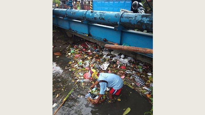 Musim Hujan, 6 Titik Sungai di Denpasar Dibersihkan, Hasilkan129 Meter Kubik Sampah