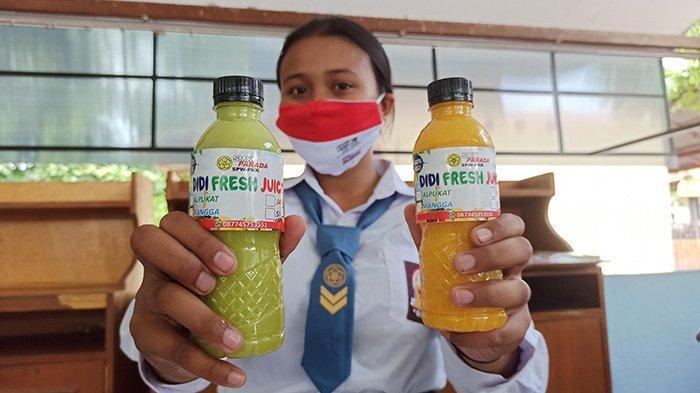 SMK Parada Badung Gelar Pameran Hasil Karya Peserta Didik dan Start up Bisnis di Tengah Pandemi