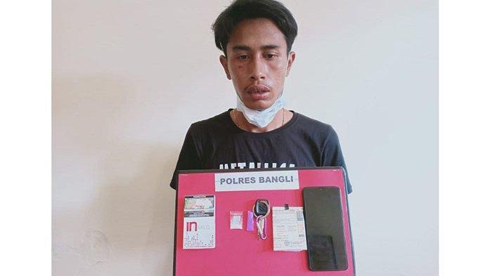 Simpan Sabu di Celana, Penjual Bahan Pangan di Bangli Diamankan Polisi
