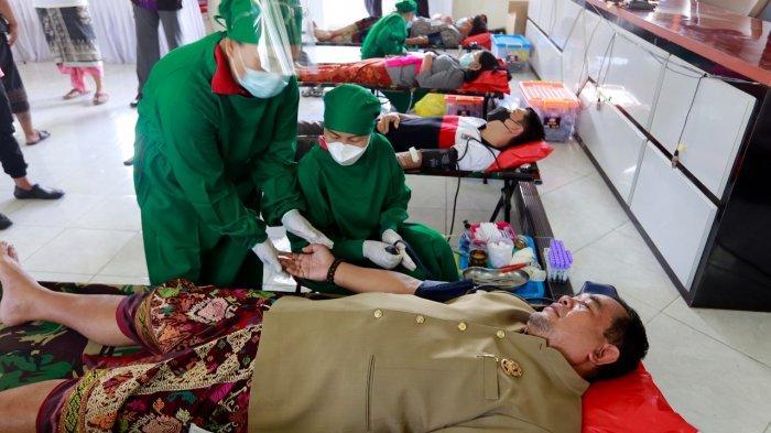 Stok Darah PMI Menipis, Disdukcapil Klungkung Gelar Donor Darah Demi Kemanusiaan