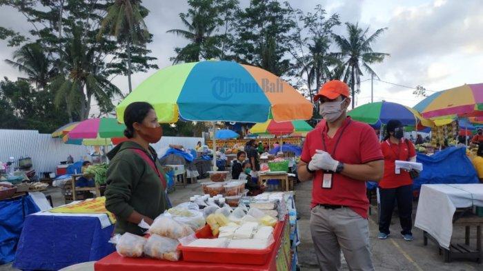 New Nomal, Jam Buka Pasar di Gianyar Masih Dibatasi