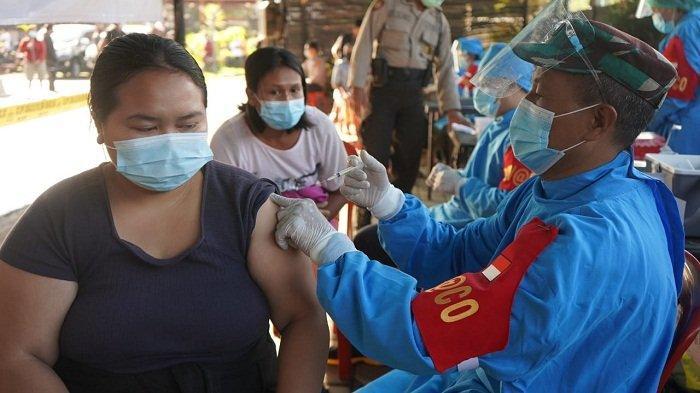 Antusias Warga Tinggi, Pelaksanaan Vaksinasi Dosis II di Polres Bangli Diperpanjang Dua Hari