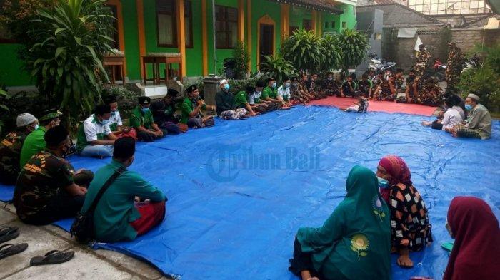 GP Ansor Karangasem Gelar Doa Bersama Untuk Kapal KRI Nanggala 402, Sukri: Semoga Bisa Ditemukan