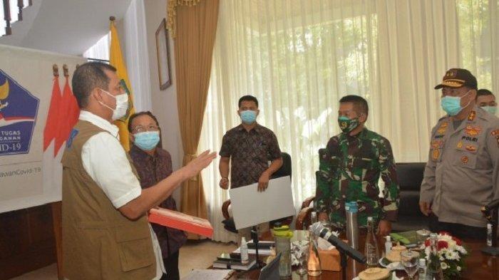 Terkait Peningkatan Kasus Termasuk Bali, Doni Monardo Gelar Rapat Penanganan Covid-19 di Bali