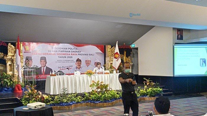 Siap Kuasai 3 Daerah di Pilkada Selanjutnya, Gerindra Bali Gelar Rapat Evaluasi & Pendidikan Politik