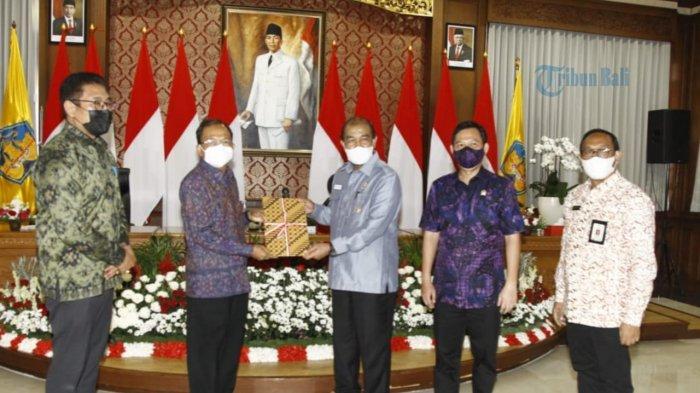 Dukung Fungsi DPD RI Serap Aspirasi, Pemprov Bali Hibahkan Aset untuk Kantor Daerah