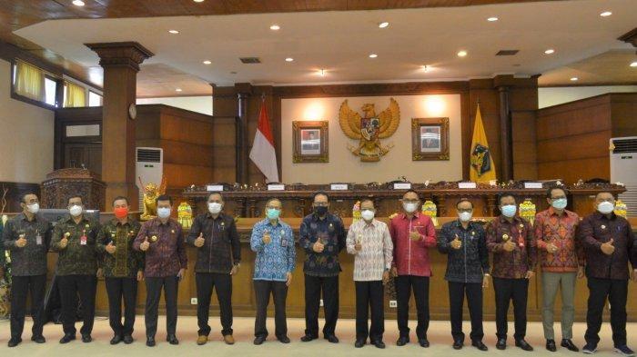 DPRD Bali Gelar Sidang Paripurna Istimewa, Bali Diganjar 8 Kali Opini WTP Oleh BPK RI