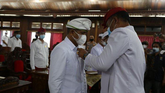Sempat Jual Sarana Upakara di Tempat Kremasi, Made Wibawa Dilantik Jadi Anggota DPRD Klungkung