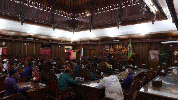 DPRD Klungkung Gelar Rapat Paripurna , Lembaga Dewan Tambah Satu Fraksi