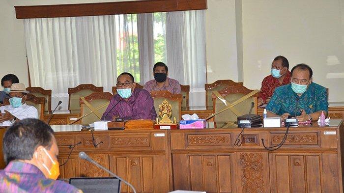 Gelar Rapat Tertutup, DPRD Bali Sepakati Realokasi Anggaran Penanganan Covid-19 Rp 756 Miliar