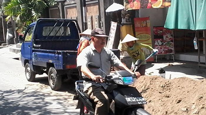 Citizen Journalism - Pembangunan Drinase Untuk Atasi Banjir di Sanur