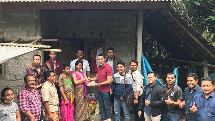 Aprindo Bali Serahkan Bantuan kepada Anak Yatim Piatu di Bebandem