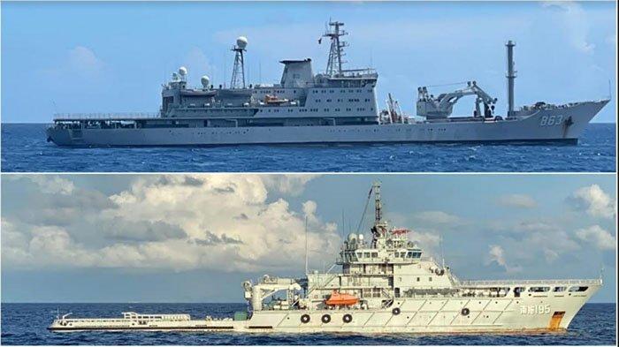 Bantu Evakuasi KRI Nanggala-402, Dua Kapal AL China Tiba di Perairan Bali