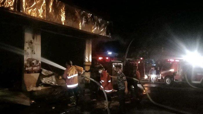 Dua Kebakaran Terjadi Dalam Semalam di Jembrana