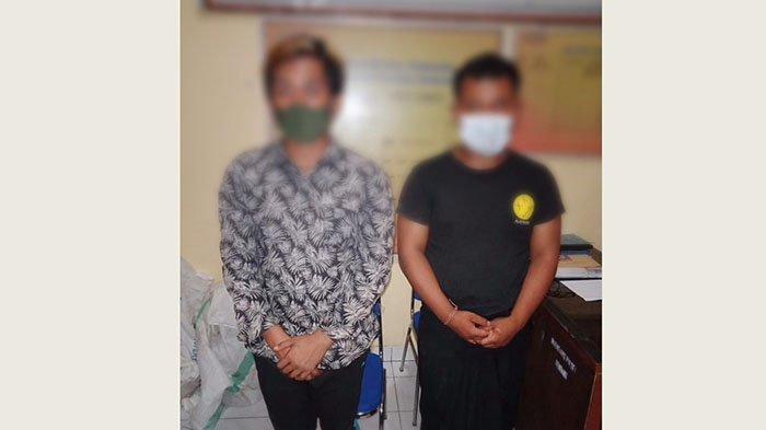 Mencuri di Kawasan Pura Besakih, Dua Pelaku Diamankan Kepolisian Rendang