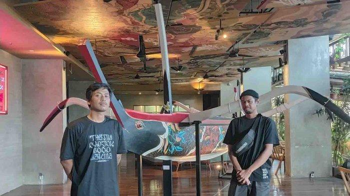Dua Pelukis Milenial Asal Bali Gelar Pameran Bertajuk Lautan, Swoofon: Untuk Mengingat Masa Kecil