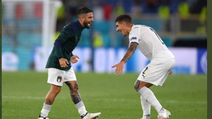 Jalannya Pertandingan Babak Kedua Italia vs Turki, Italia Bermain Terengginas Ciptakan 3 Gol