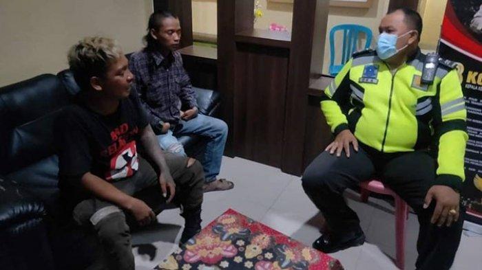 Berkelahi di Simpang TL Kediri Tabanan hingga Ganggu Lalu Lintas, Dua Pengamen Diamankan Polisi