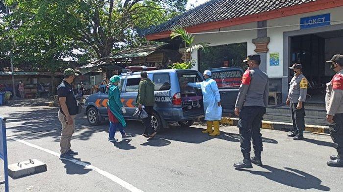 Hasil Tes Antigen Positif, 2 Penumpang Kapal Ferry Dirujuk ke Denpasar untuk Jalani Isolasi Terpusat