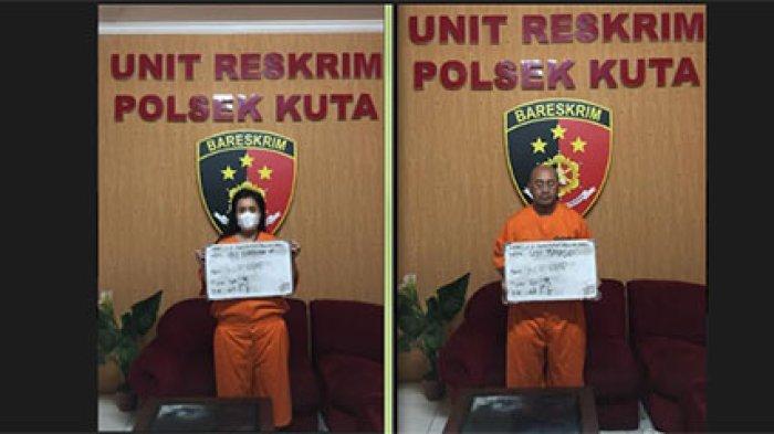 Nekat Mencuri HP di Barbershop Wilayah Kuta Badung, Pasangan Ini Diringkus Polisi
