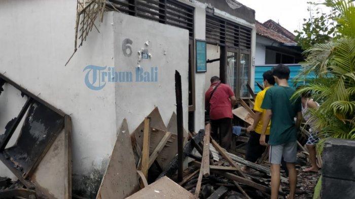 UPDATE: 2 Rumah di Sesetan Denpasar Dilalap Si Jago Merah, Hendra: Sudah Tidak Bisa Berbuat Apa-apa