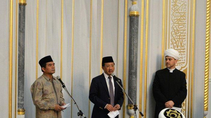Doa Solidaritas Indonesia dan Muslim Rusia untuk Palestina di Bulan Ramadan