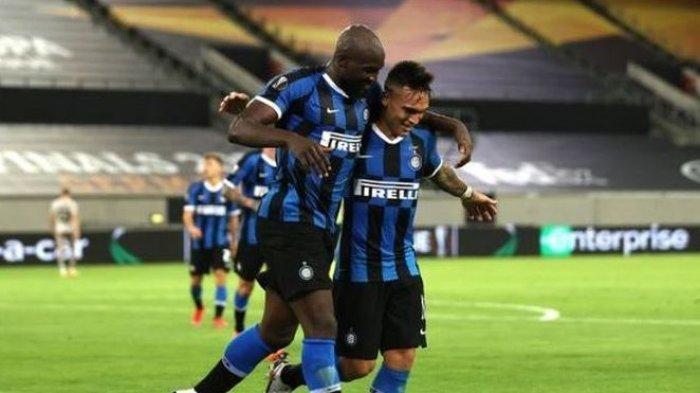 Inter Milan Vs Shakhtar, Lukaku-Lautaro Masing-masing 2 Gol, Inter Milan Lolos ke Final Liga Europa