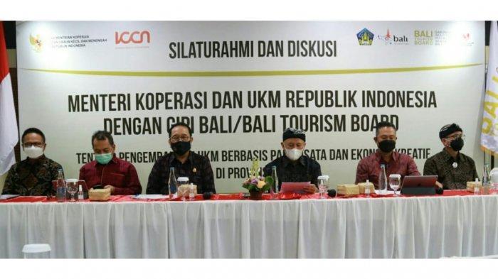 Dukung Kebijakan Spasial untuk Pemulihan Ekonomi Bali, Ini Kata Menkop UKM Teten Masduki