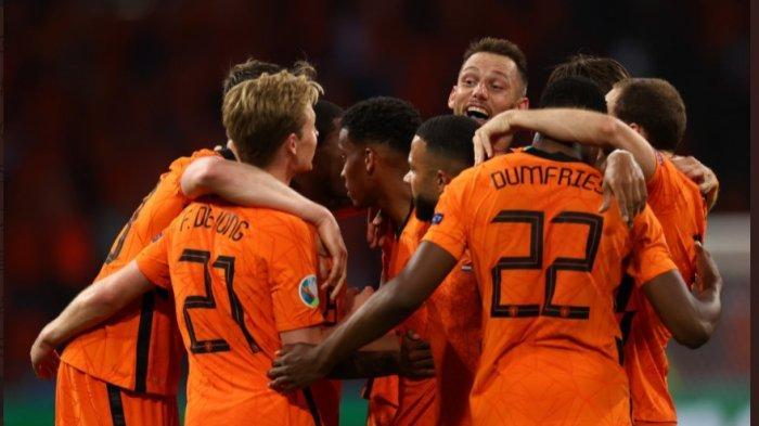 EURO 2020: Menang Dengan Skor Tipis, Belanda Berada di Urutan Kedua Klasemen Sementara