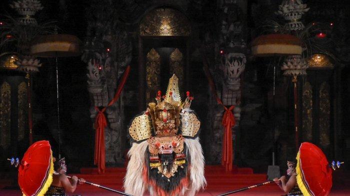 Duta Kota Denpasar Tampil Apik Pada Lomba Bapang Barong di PKB XLIII