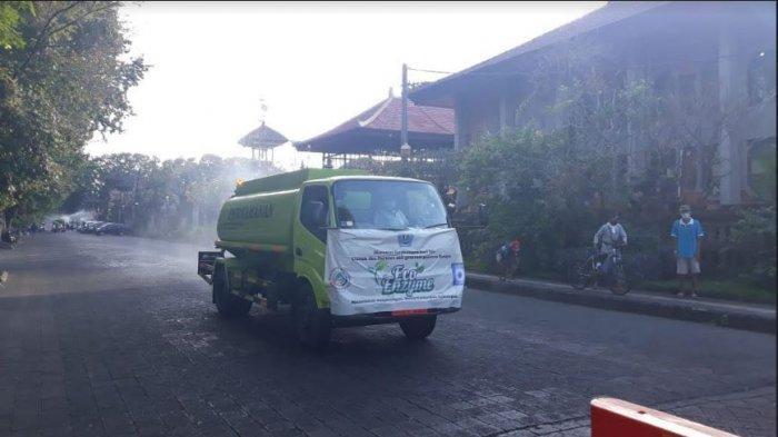 Selama 5 Hari, Kota Denpasar Dihujani 200 Ribu Liter Cairan Eco Enzyme