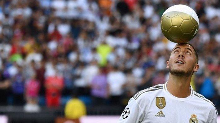 Real Madrid Geram dengan Perut Buncit Eden Hazard