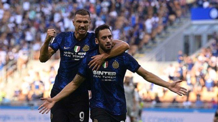 Sampdoria Vs Inter Milan: Kans Nerazzurri Kudeta Lazio di Liga Italia, Modal Rekor Gol Edin Dzeko