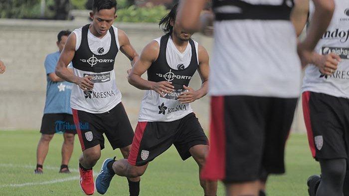 Jalani Latihan Perdana di Masa Pandemi Covid-19, Ini yang Dilakukan Para Pemain Bali United