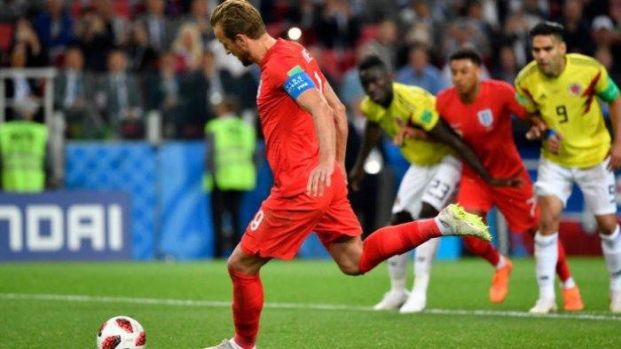 Singkirkan Kolombia Lewat Adu Penalti, Inggris Melaju ke Perempat Final Piala Dunia