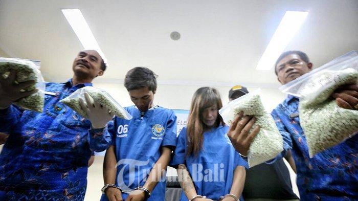 Wanita Berambut Pirang Ini Bawa 9.675 Butir Ekstasi ke Bali, Ngakunya Obat Sakit Kepala