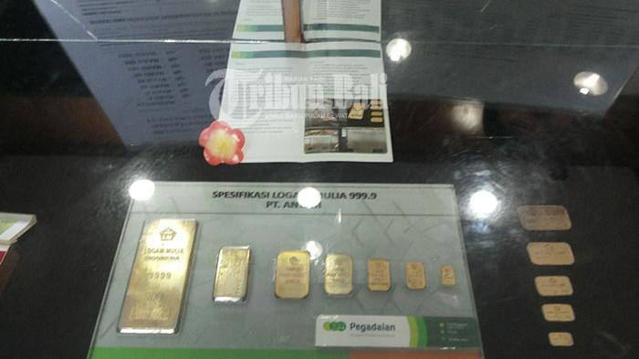 Harga Emas Naik Lagi Rp 1.025 per Gram